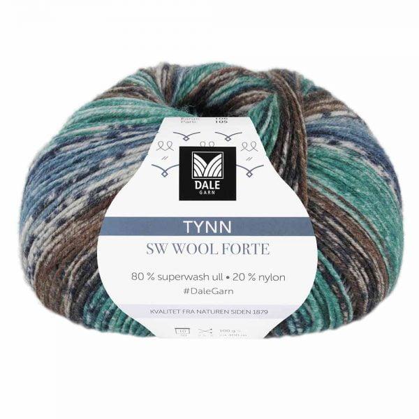 Kjøp Dale Tynn SW Wool Forte Garn 106