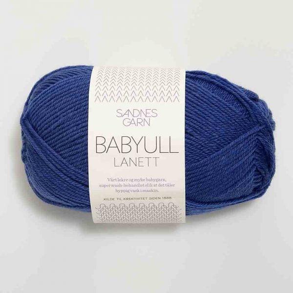 Kjøp Sandnes Babyull lanett med belte Garn 5846