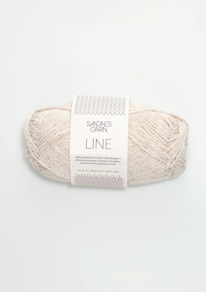Kjøp Sandnes Line med belte Garn 1015