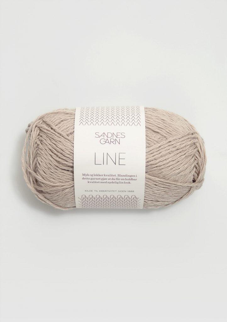 Kjøp Sandnes Line med belte Garn 2331