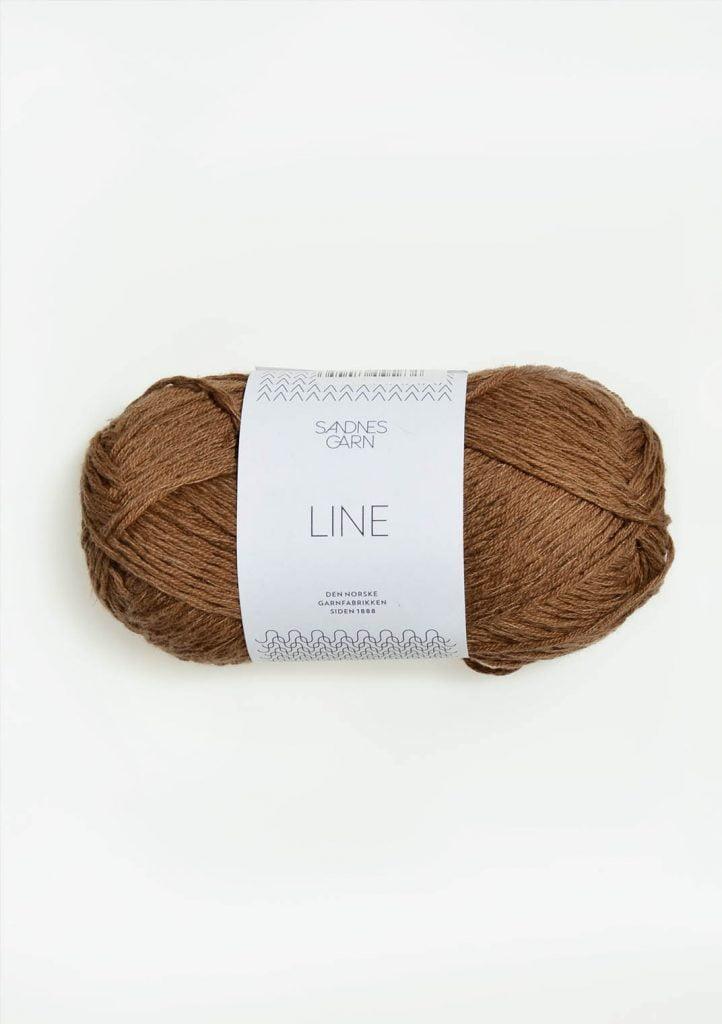 Kjøp Sandnes Line med belte Garn 2553