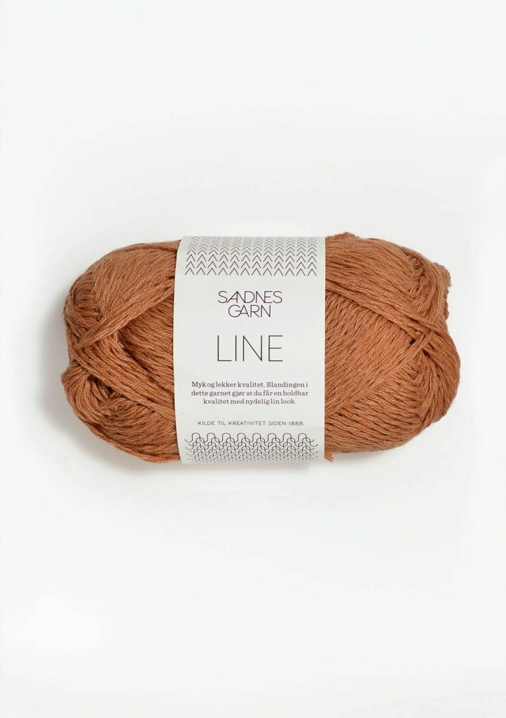Kjøp Sandnes Line med belte Garn 2734