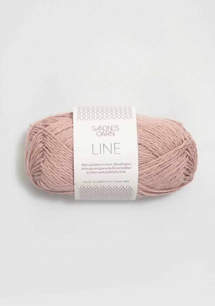 Kjøp Sandnes Line med belte Garn 3511