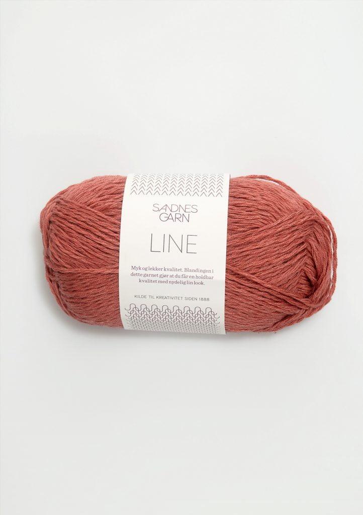 Kjøp Sandnes Line med belte Garn 4234