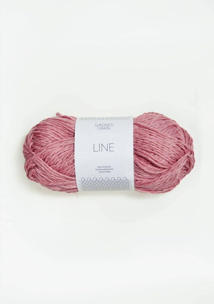 Kjøp Sandnes Line med belte Garn 4323