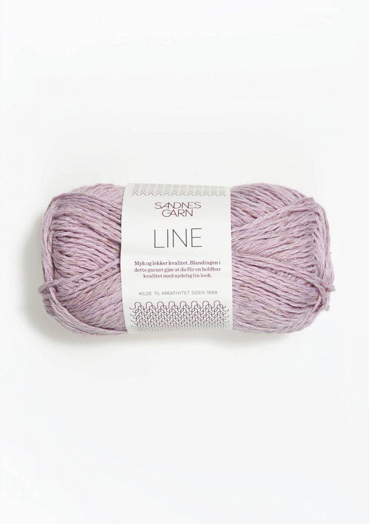 Kjøp Sandnes Line med belte Garn 4612
