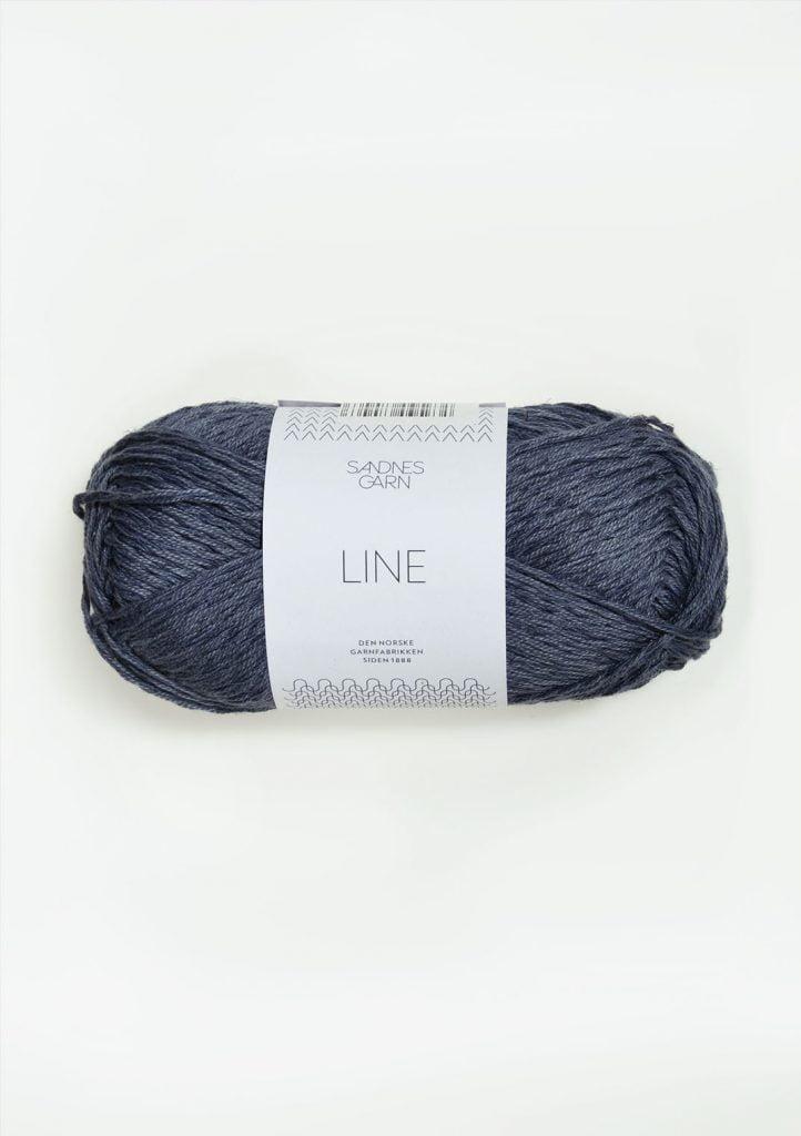 Kjøp Sandnes Line med belte Garn 6061