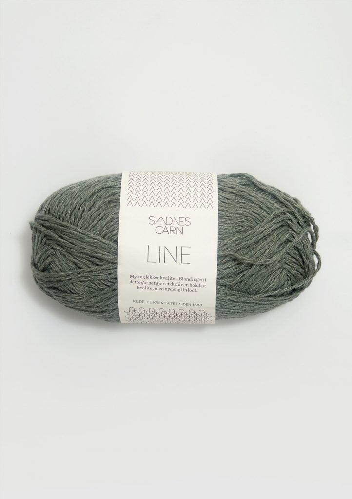 Kjøp Sandnes Line med belte Garn 8561