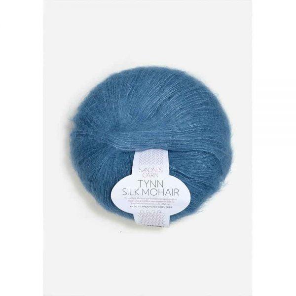 Kjøp Sandnes tynn silk mohair med belte Garn 6042