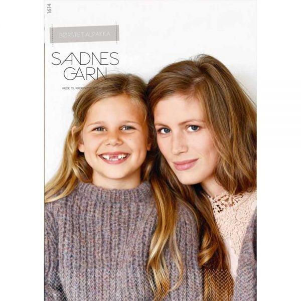 kjøp 1614 BØRSTET ALPAKKA Fra Sandnes Garn Hos Tittinngarn