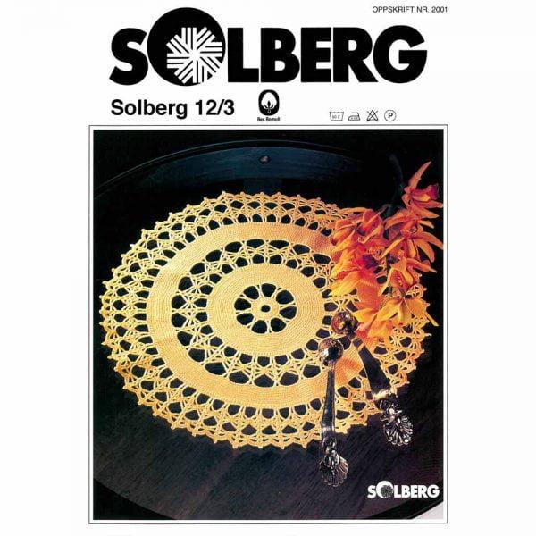 kjøp 2001 RUND GUL DUK Fra Solberg Spinderi hos TittInnGarn her