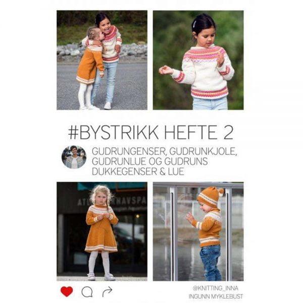 kjøp BYSTRIKK HEFTE 2 fra knitting inna hos titt inn garn her