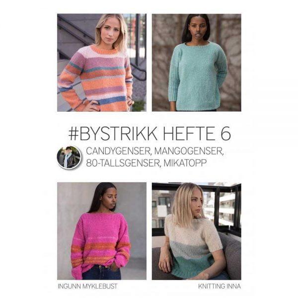 kjøp BYSTRIKK HEFTE 6 fra knitting inna hos titt inn garn her