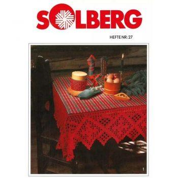 kjøp HEFTE NR. 27 fra Solberg hos titt inn garn her