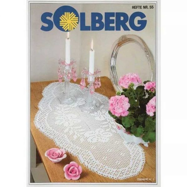 kjøp HEFTE NR. 55 fra Solberg hos titt inn garn her