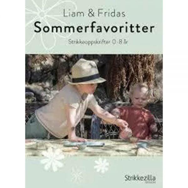 kjøp LIAM & FRIDAS SOMMERFAVORITTER fra strikkezilla hos titt inn garn her
